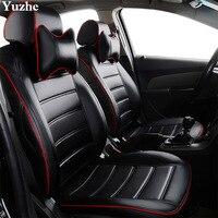 Yuzhe (2 voorstoelen) Auto automobiles autostoel cover Audi A6L Q3 Q5 Q7 S4 A5 A1 A2 A3 A4 B6 b8 B7 A6 c6 A7 A8 accessoires