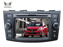 4UI intereface combined in one system CAR DVD PLAYER FOR SUZUKI SWIFT 2011 2012 2013 2014 2015 bluetooth gps navi radio MAP