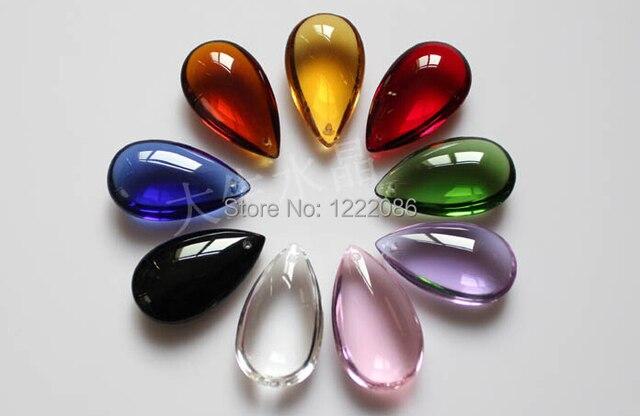 Wholsale120pcslot 38mm crystal teardrop pendant for chandelier wholsale120pcslot 38mm crystal teardrop pendant for chandelier curtain parts aloadofball Images