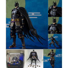 SHFiguarts DC Justice League SHF Ninja Batman PVC Action Figure Toy Brinquedos Batman Ninja Figurals Model Gift цена в Москве и Питере