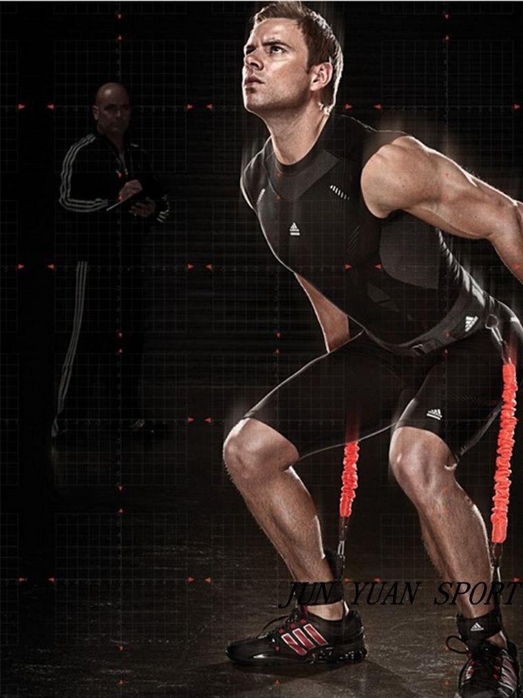 Sports d'intérieur outil basket-ball volley-ball saut exercice résistance bandes fitness équipement d'entraînement tirer corde taille jambe muscle