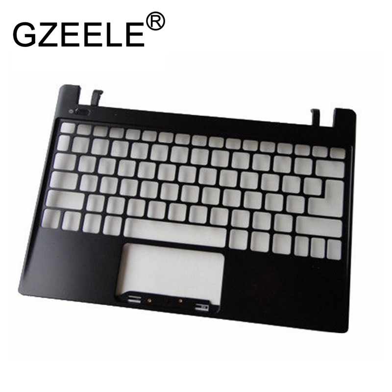 GZEELE new for Acer Aspire V5 V5-131 V5-171 series Palmrest Top Case Assembly upper cover keyboard bezel laptop original new laptop cpu cooling fan for acer aspire one 756 v5 131 v5 171 ab06505hx06p300 dc 5v 0 4a 3 pins dc28000bpa0