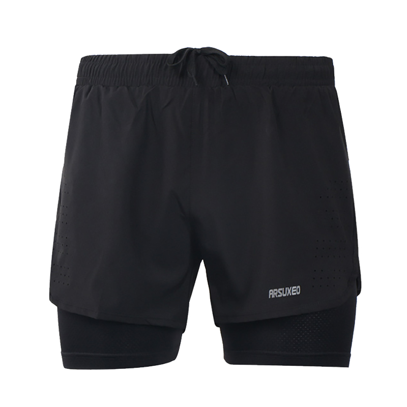 Quick Dry Running Shorts Anti-sweat Stretch Trainning Fitness Yoga Sports Short Pants Slim Gym Sweat Shorts Size M To XXXL шорты мужские puma bmw mms sweat shorts цвет серый 57779403 размер m 48
