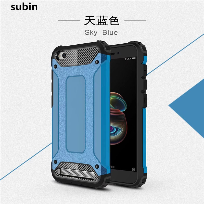 Galleria fotografica Per Xiaomi Redmi 5A copertura della cassa funda New Luxury Antiurto bumper protegge Per Xiaomi Redmi 5A <font><b>smartphone</b></font> caso della copertura posteriore coque