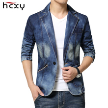 Casual Mens Denim Jackets nad coats Fashion High Quality Male jeans Blazer Single Breasted Cotton Denim Jacket for Men size 3XL