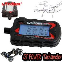 1 stücke G.T. Power Modell Beruf RC Motor Digital Optical Tachometer Unterstützt 2 zu 9 Bladed Paddle Propeller