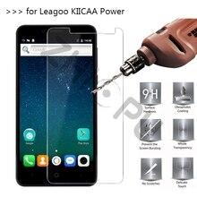 2.5D 0.26 мм 9 H Премиум закаленное Стекло для leagoo kiicaa Мощность 5.0 дюймов Экран протектор Закаленное защитная пленка