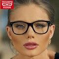 Многоцветный Очки Кадры Мужчины Женщины Мода 2016 Равнине Зеркало Сверхлегкий Ацетат Очки Мужчины Старинные Очки Кадр Женщины Мужчины