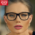 Multicolor Eyeglasses Frames Men Women Fashion 2016 Plain Mirror Ultralight Acetate Eyewear Male Vintage Glasses Frame Women Men