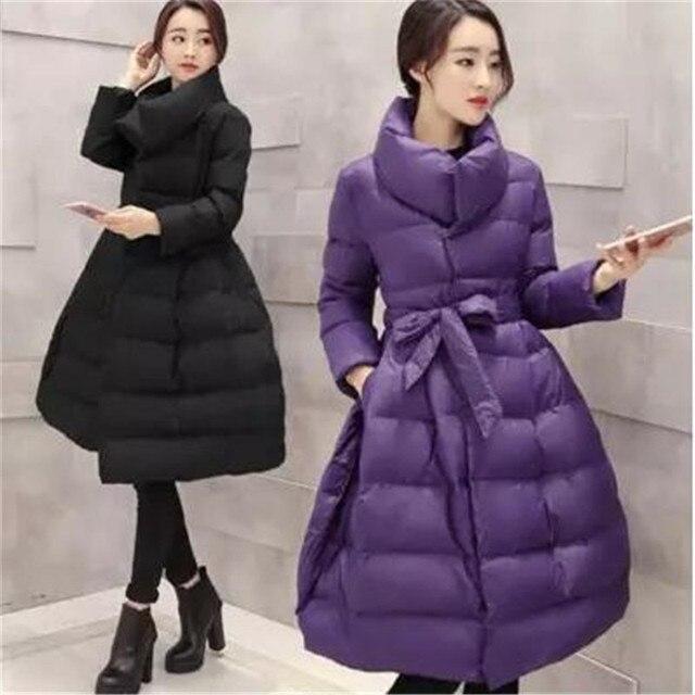 Женские базовые пальто Зимние пальто, чтобы согреться в толстых пальто han edition Стиль Мода, высококачественная одежда длинное пальто BN1582
