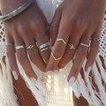 Новинка кольцо модное популярное индивидуальное богемное кольцо в национальном стиле для женщин комбинированное кольцо ювелирные изделия...