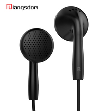 2017 New Arrival Langsdom 3.5mm Stereo Earphone Headphone Super Bass Headset with Mic for Mobile Phone iphone xiaomi