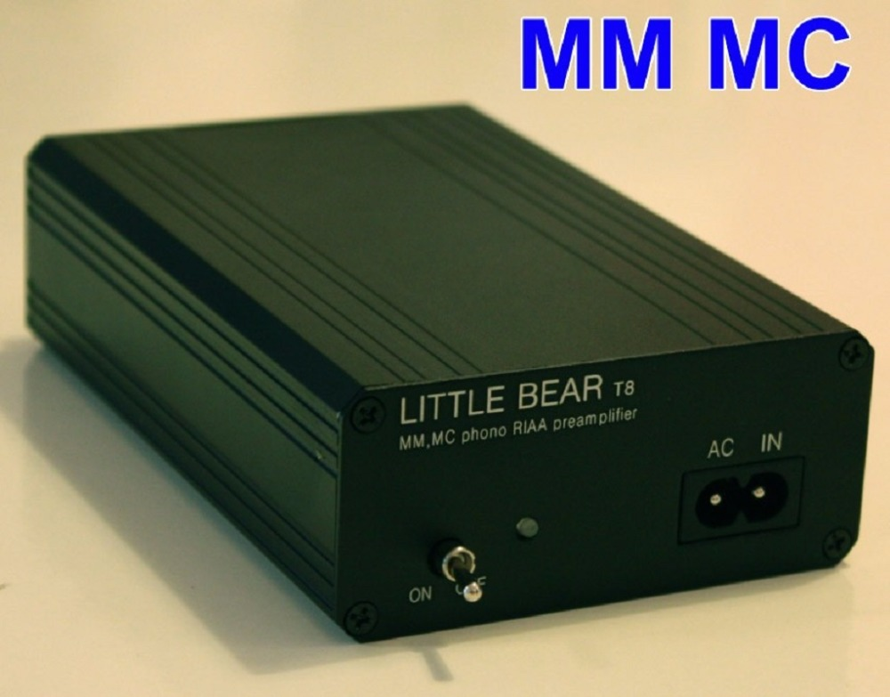 цена HiFi phono preamp Little Bear T8 Phono Turntable MM / MC both RIAA Preamp preamplifier amplifier Ver1.2