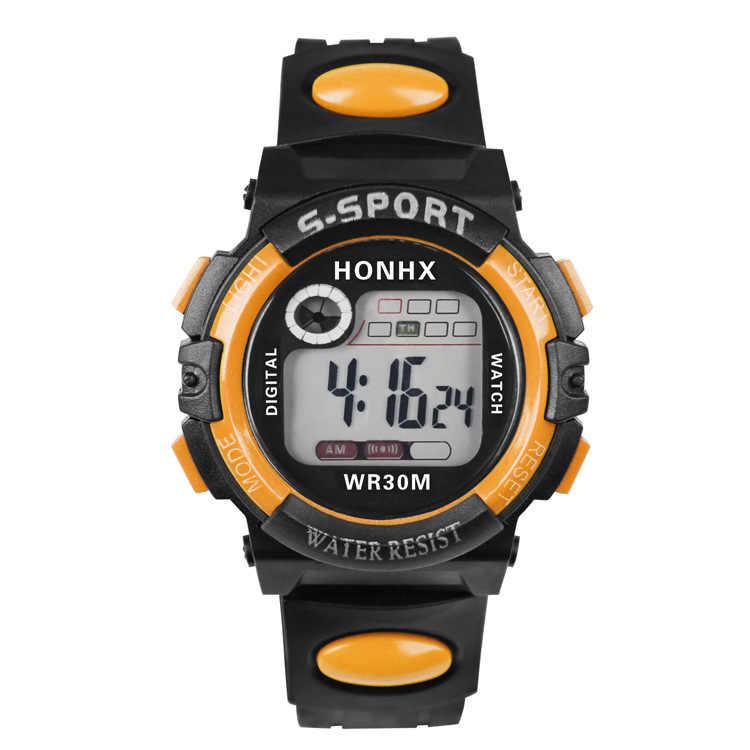 BOUNABAY Luxo Homens Esportes Relógios À Prova D' Água Eletrônica Digital LED Militar Relógio Masculino Esporte Ao Ar Livre Relógio de Pulso Relógio