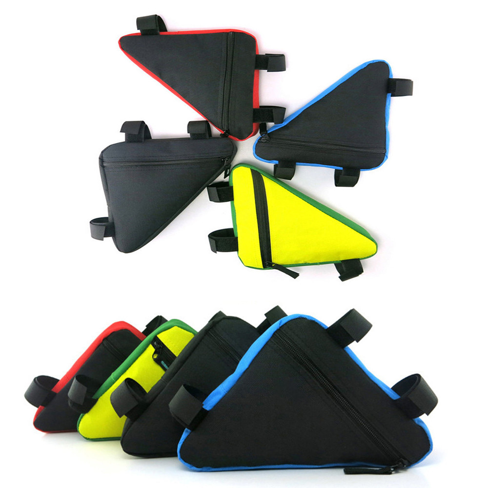 B-SOUL Bicycle Front Frame Bag Cycling Bike Tube Pouch Holder Saddle Panniers Bike Accesso
