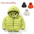 Niños chaqueta de invierno Nuevo invierno de Alta calidad super Suave y delicada del bebé paños de algodón traje para la nieve caliente catsuit casacos invierno