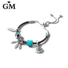 GM100%925 Sterling Silver Original Copy Of High Quality 1:1 Bracelet Logo Free Wholesale Manufacturers