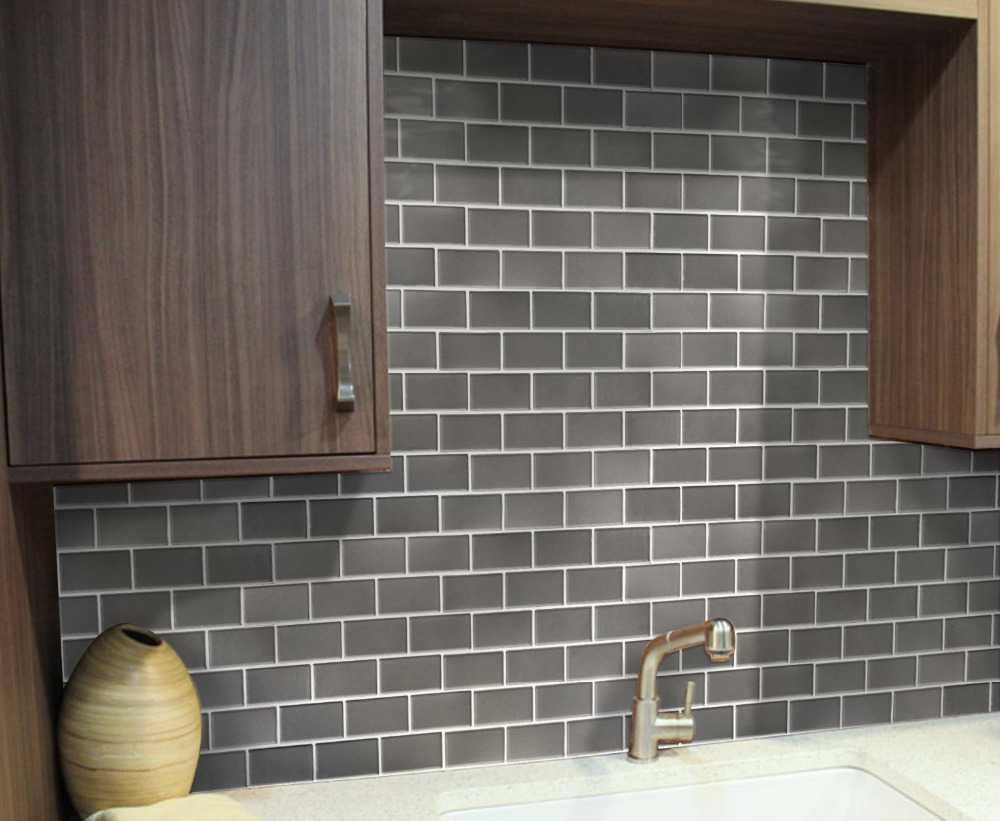 stick backsplash tiles kitchen couchable peel stick kitchen backsplash walmart