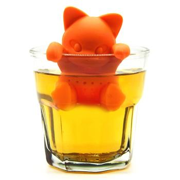 Silicone Cat Tea Infuser Tea Filter