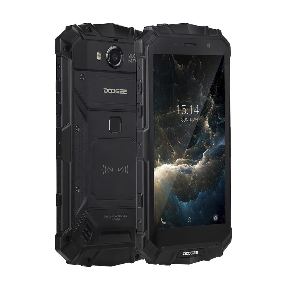 IP68 DOOGEE S60 Carica Senza Fili 5580 mah 12V2A Carica Rapida 5.2 ''FHD Helio P25 Octa Core 6 gb 64 gb Smartphone 21.0MP Macchina Fotografica