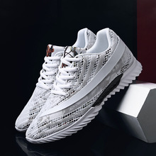Mesh Men Shoes Casual Breathable Sneakers Mens Fashion Male Footwear Spring New Flats Brand