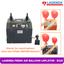 B322 Free Shipping Timer and Counter Lagenda Fresh Air Balloon Inflator