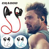 CBAOOO Bluetooth écouteurs casque Sport basse sans fil casque avec micro stéréo Bluetooth écouteurs pour iphone téléphone