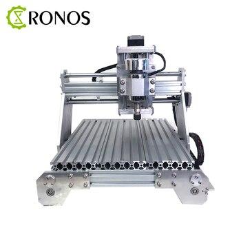 Máquina de grabado CNC Full Metal ER alta potencia del husillo eléctrico pequeño CNC línea automática máquina de corte de Metal