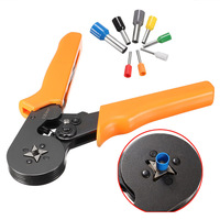 1pc Ratcheting Ferrule Crimping Plier 800pcs Electrical Crimp Connector Terminal Kit Tool Set For End Sleeves