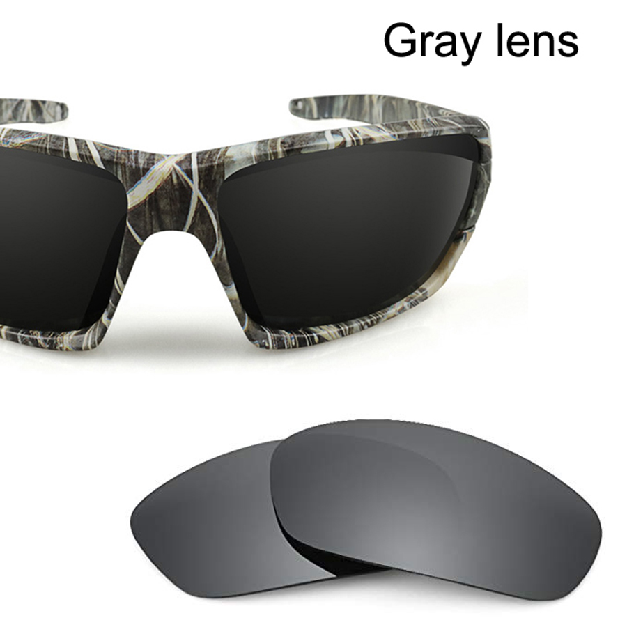 NEWBOLER Total 3 Pairs Polarized Glasses lens for GLA035, including 1 Pair Gray lens, 1 Pair Red lens, 1 Pair Blue lens.