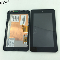 1024 600 CLAA070NQ01 XN LCD Display Touch Screen Digitizer With Frame Replacement For HP Slate 7