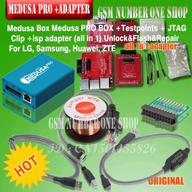 2019 ใหม่ MEDUSA กล่อง/medusa pro กล่อง + isp all in 1 adapter สำหรับ LG, Samsung, huawei + จัดส่งฟรี