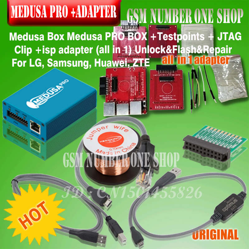 2019 original new MEDUSA BOX medusa pro box isp all in 1 adapter for LG Samsung