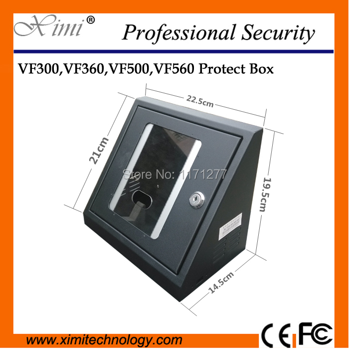 Fit in VF300 VF360 VF380 VF500 VF560 VF580 VF600 VF680 face access control & time recorder safety waterproof protect cover box kupo vf 01