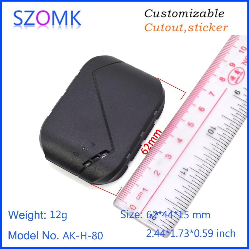 GPS plastic enlcosure szomk plastic enclosure box small instrument enclosure housing for electronics pcb design  (9)