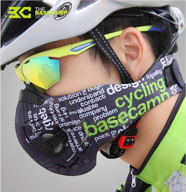 Basecamp Cycling Mask Men Women Sport Face Masks Smog Anti Pollution Anti Dust maske MTB Bicycle Mask ciclismo bisiklet