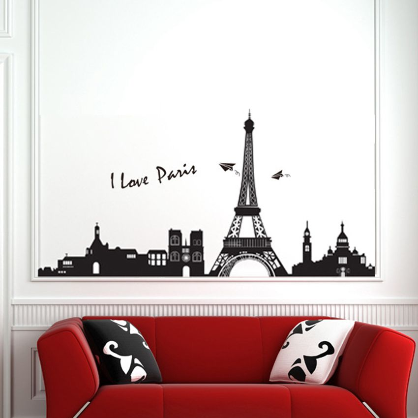 Online Buy Wholesale Eiffel Tower Wall Decor From China Eiffel