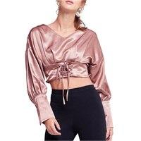 Marka NYMPH-odzież Hot 2018 Nowe Letnie Przybycia Kobiety T-shirt Różowy Casual Szyi Trójniki Panie Krótki T koszula Kobiet Góry Wielkie rozmiar