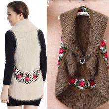 High quality elegant cutout handmade crochet vest women sweater women outerwear cape Hot Sale 866#