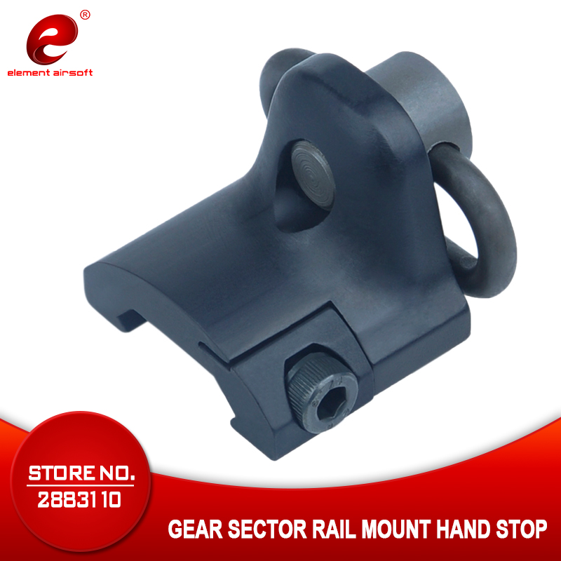 Element Sling Swivel Mount GS Gear Sector Rail Mount Hand Stop Picatinny Rail Mount Base 20mm Connecting QD Sling Ring EX249