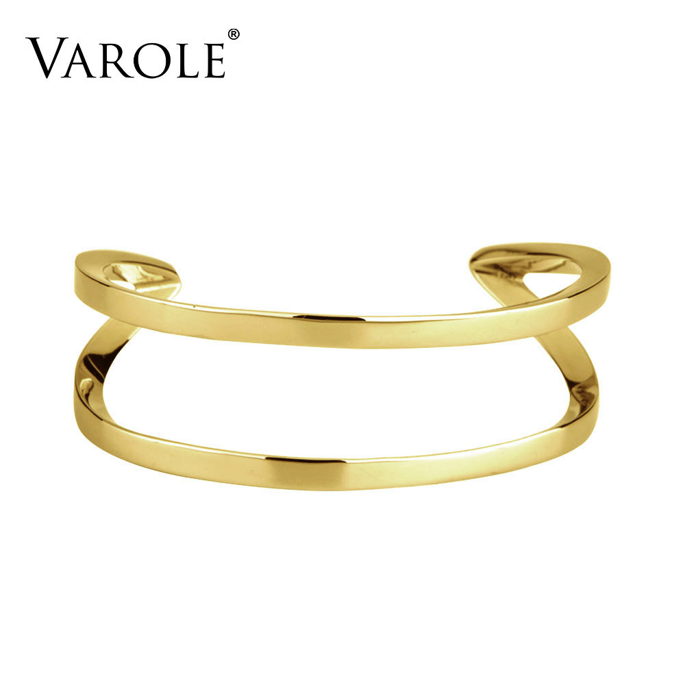 VAROLE Fashion OL Women's Summer Cuff Bangles Trendy Bracelets for Women Jewelry Feminino Pulseiras Bracelets & Bangles