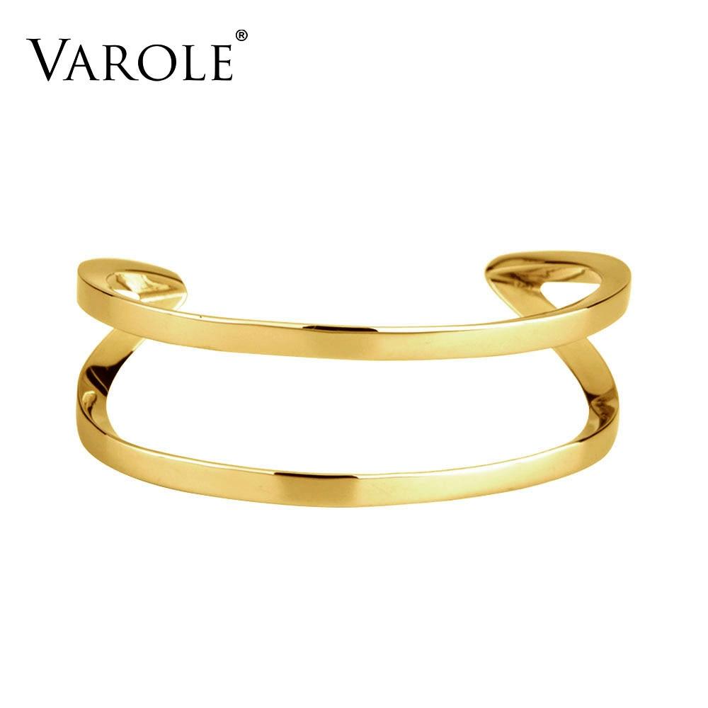 VAROLE Fashion OL Dam sommar manschett armband Trendiga armband för kvinnors smycken Feminino Pulseiras Armband & armband