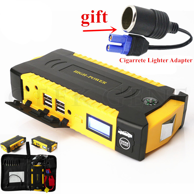 Car Jump Starer 600A Portable Starting Device Power Bank 12V Car Charger For Car Battery Booster