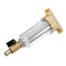 Haute qualité filtres à eau avant purificateur cuivre plomb pré filtre lavage à contre courant enlever rouille Contaminant sédiment tuyau