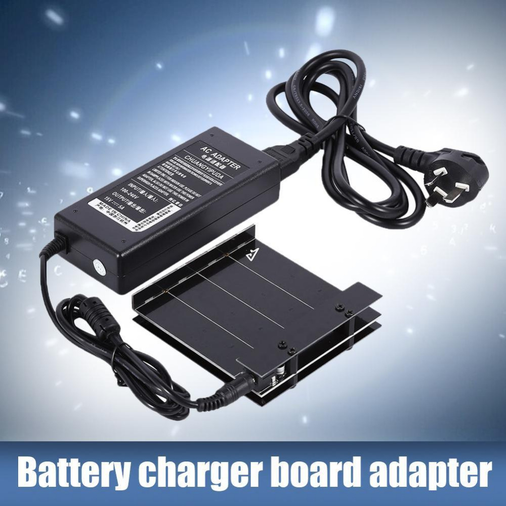 Black Parallel Multi-Battery Charger Adapter for Osmo Handheld Gimbal Camera Accessories icharger 4010duo multi chemistry dc battery charger 10s 40a 2000w