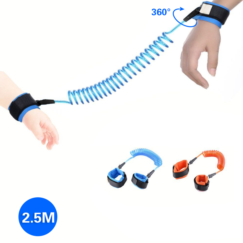 Adjustable Child Safety Harness Kids Baby Safety Outdoor Walking Hand Belt Band Anti-lost Wristband Leash Baby Safety Wristband цена