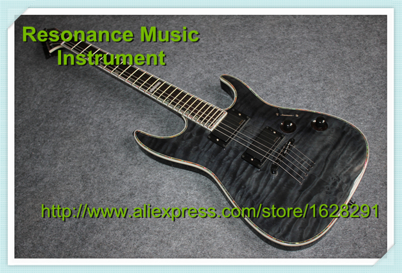 Wholesale & Retail Custom Shop ESP Horizon NT II STBC Chinese Factory Electric Guitar Left Handed Guitarra & Kits Available chinese oem classical black beauty p 90 style pickup lp custom guitars electric left handed available