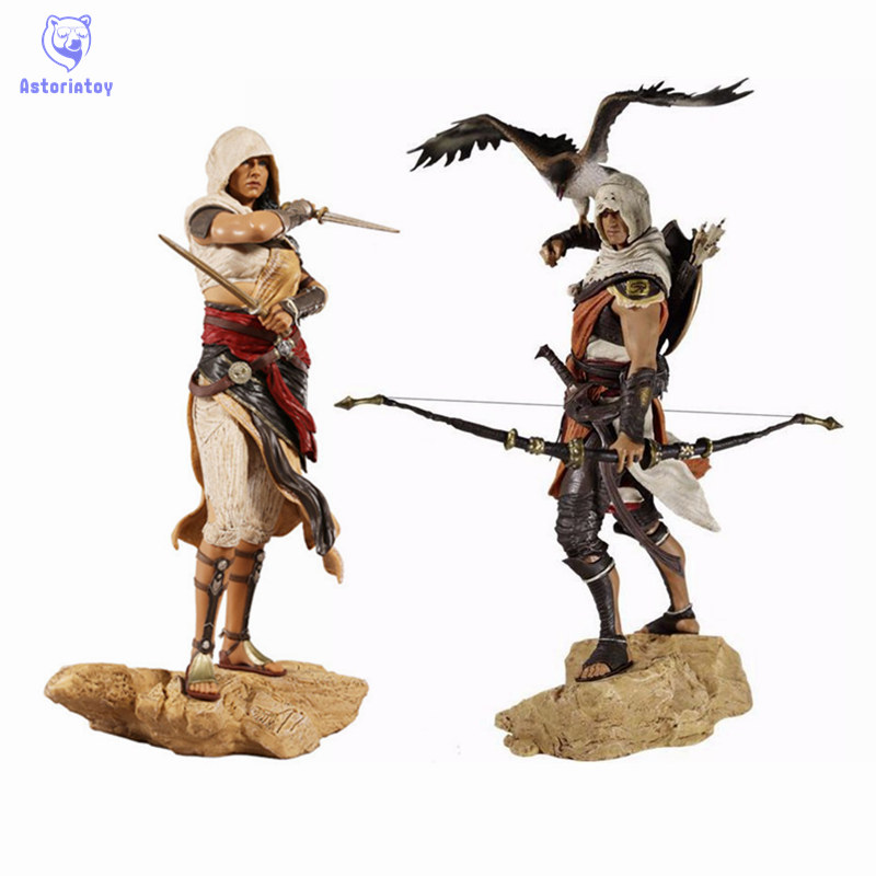 Assassin's Creed Altair The Legendary Origins Buyck Aya Connor Cazador, Assassin PVC Statue Figure Model Doll Toy Collection assassin s creed origins action figure bayek aya pvc 230mm anime assassin s creed origins figurine model toys