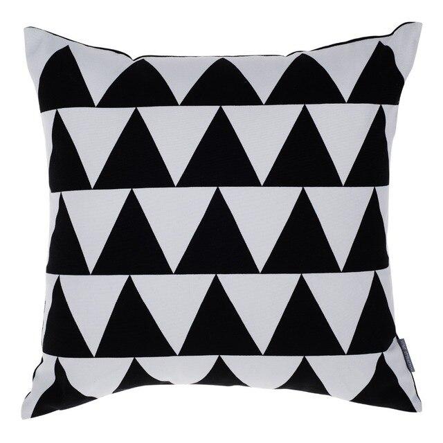 Moderne Kissen schwarz kissenbezug sofa kissen kissen wohnkultur moderne kissen um