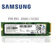 SAMSUNG SSD M.2 PM981 256GB 512GB Solid State Hard Disk M2 SSD NVMe PCIe 3.0 x4 NVMe Laptop Internal disco duro TLC PM 981 256G